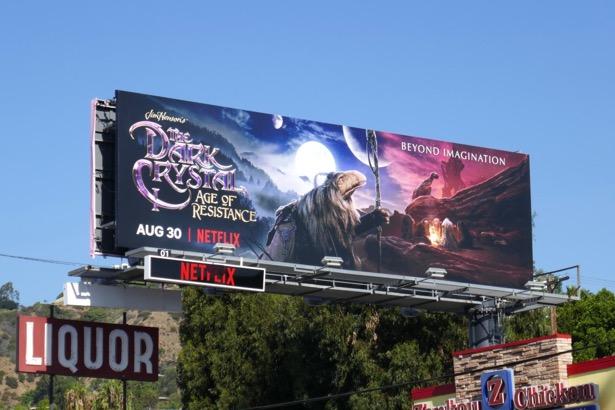 Dark Crystal Age of Resistance billboard
