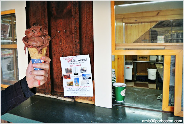 Granjas de Helados en Massachusetts: Kimball Farm