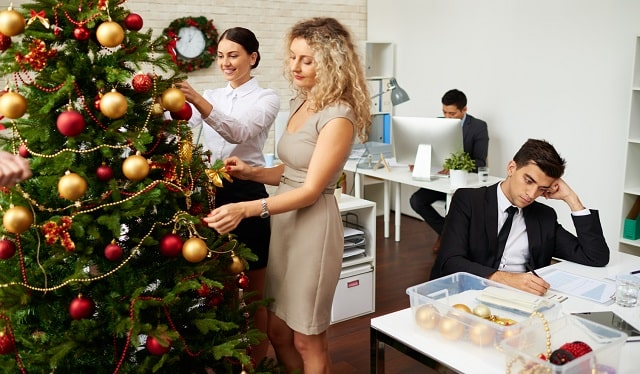 ways beat workplace christmas stress office coping holiday anxiety