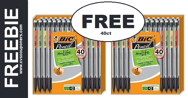 FREE Bic Mechanical Pencils 40-Pack