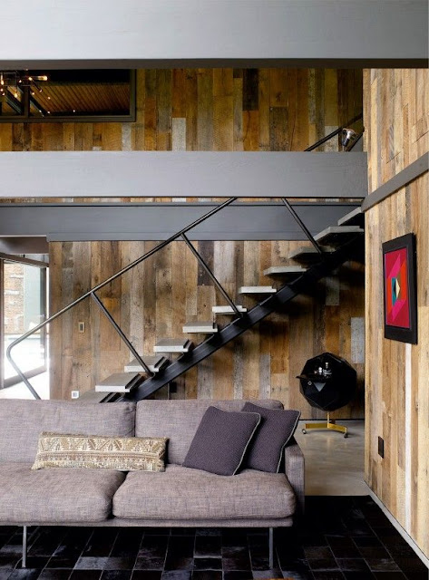 floating stairs design