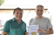Prefeito Laércio Arruda parabeniza forças de segurança por impedir assalto às agências bancárias de Lago da Pedra