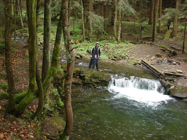 Водопадик на реке Павлов поток