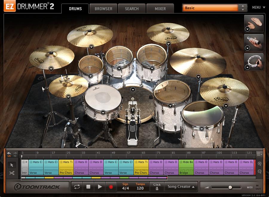 Toontrack EZDrummer 2 VST Plugin review - Autotune Music