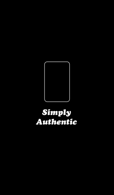 Simply Authentic Tablet PC Black-White