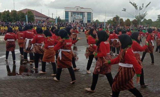 Ingin Pecahkan Rekor MURI, 1000 Penari Dampeng Meriahkan Pemuda Expo 2019 di Subulussalam