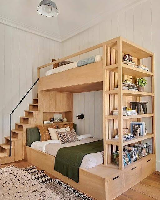 Mezzanine Pada Desain Kamar Tidur Ukuran 3x4