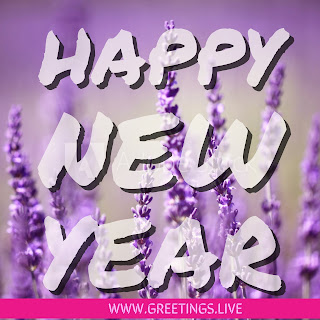 Only New Year wishes in English Ultra HD Image