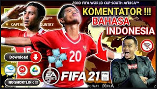 Download FIFA 2010 PPSSPP Special Piala Dunia Best Graphics Android Offfline & TIMNAS INDONESIA