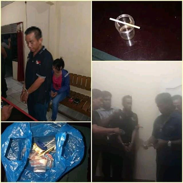 Polsek Abung Selatan Polres Lampura Kembali Ungkap Kasus Penyalahgunaan Narkoba Jenis Shabu