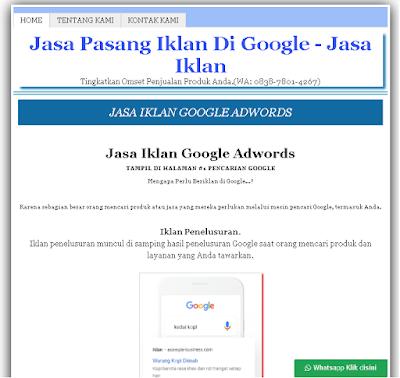 Jasa Buat Website Landing