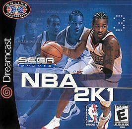 NBA 2K1 Dreamcast cover art