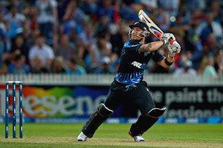 Brendon McCullum 74 - New Zealand vs England 2nd T20I 2013 Highlights