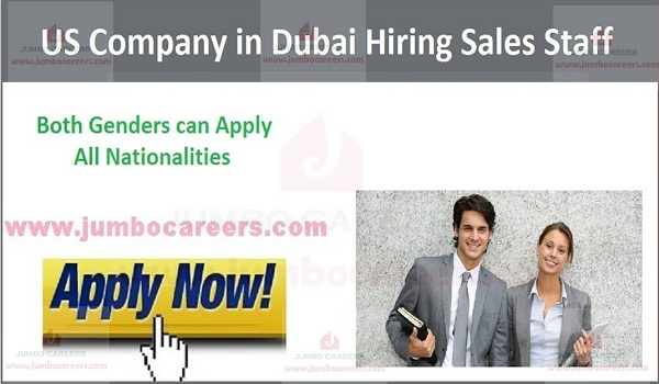Dubai sales jobs with salary and benefits,