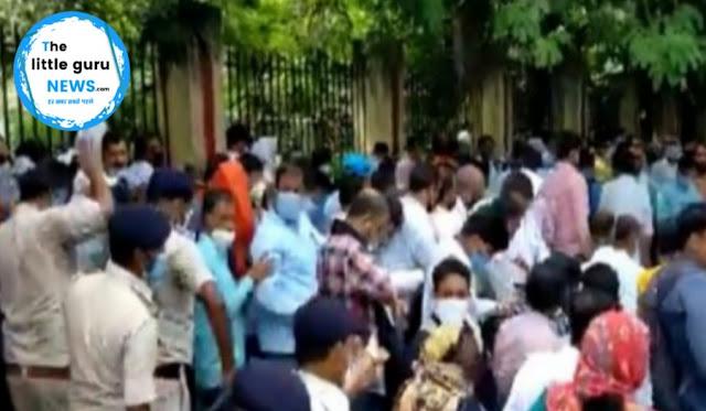 अतिथि टीचरों पर पटना पुलिस ने बरसाई लाठियां, सीएम आवास का घेराव करने जा रहे थे