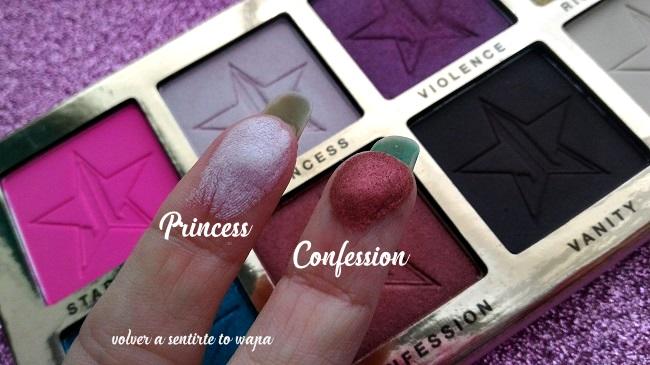 REVIEW & SWATCHES - Paleta Beauty Killer de Jeffree Star