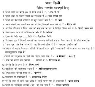 Samanya Hindi Grammar Handwritten Notes