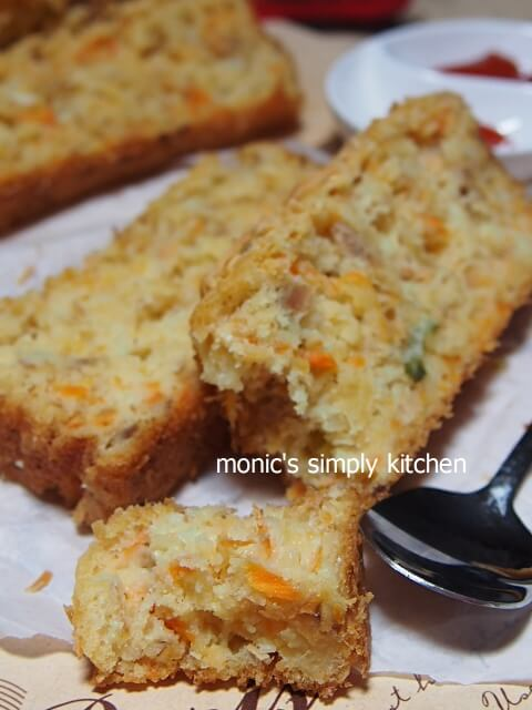 resep roti tuna wortel
