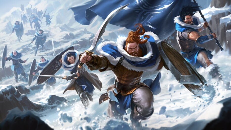 Legends of Runeterra, Avarosan Heartguard, 4K, #4.1491