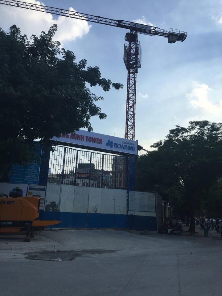 Chung cư Quang Minh Tower 35 Lê Văn Thiêm và tiến độ thực tế