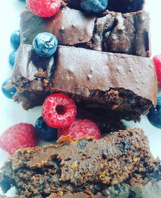 Odchudzone brownie z dyni
