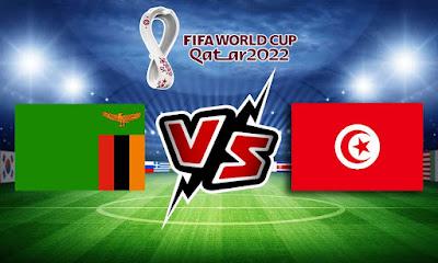زامبيا و تونس بث مباشر