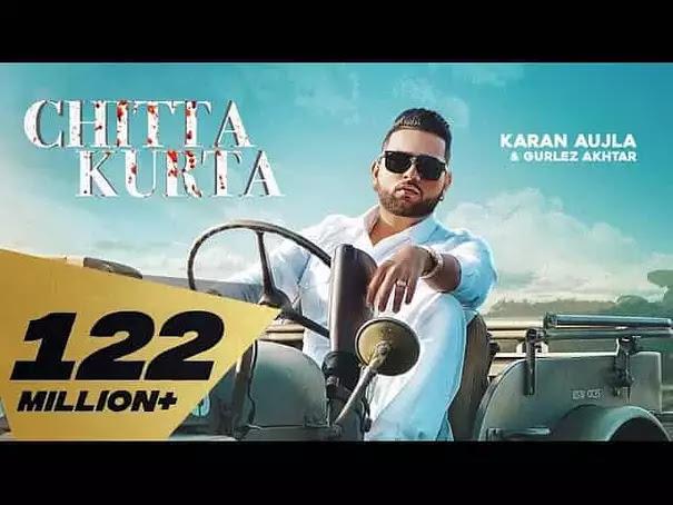 चिट्टा कुर्ता Chitta Kurta Song by Karan Aujla And Gurlez Akhtar