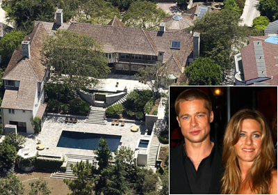 Jennifer Aniston Brad Pitt House2017 House