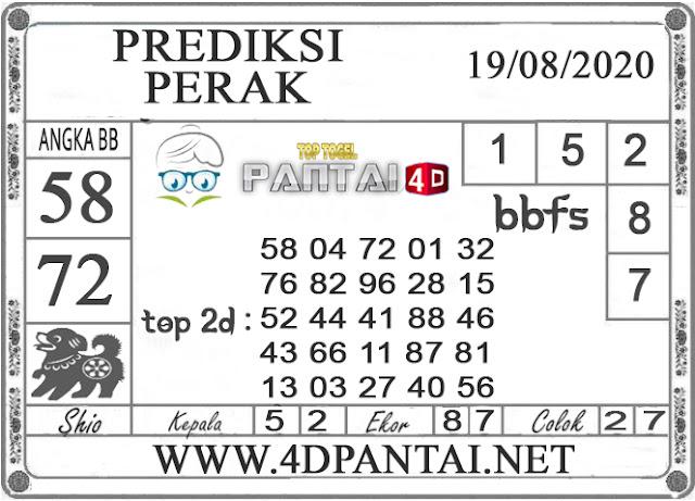 PREDIKSI TOGEL PERAK PANTAI4D 19 AGUSTUS 2020
