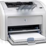 HP 1020 Printer Drivers for Windows 7