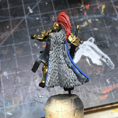 Sisters of Silence Oblivion Knight WIP - back