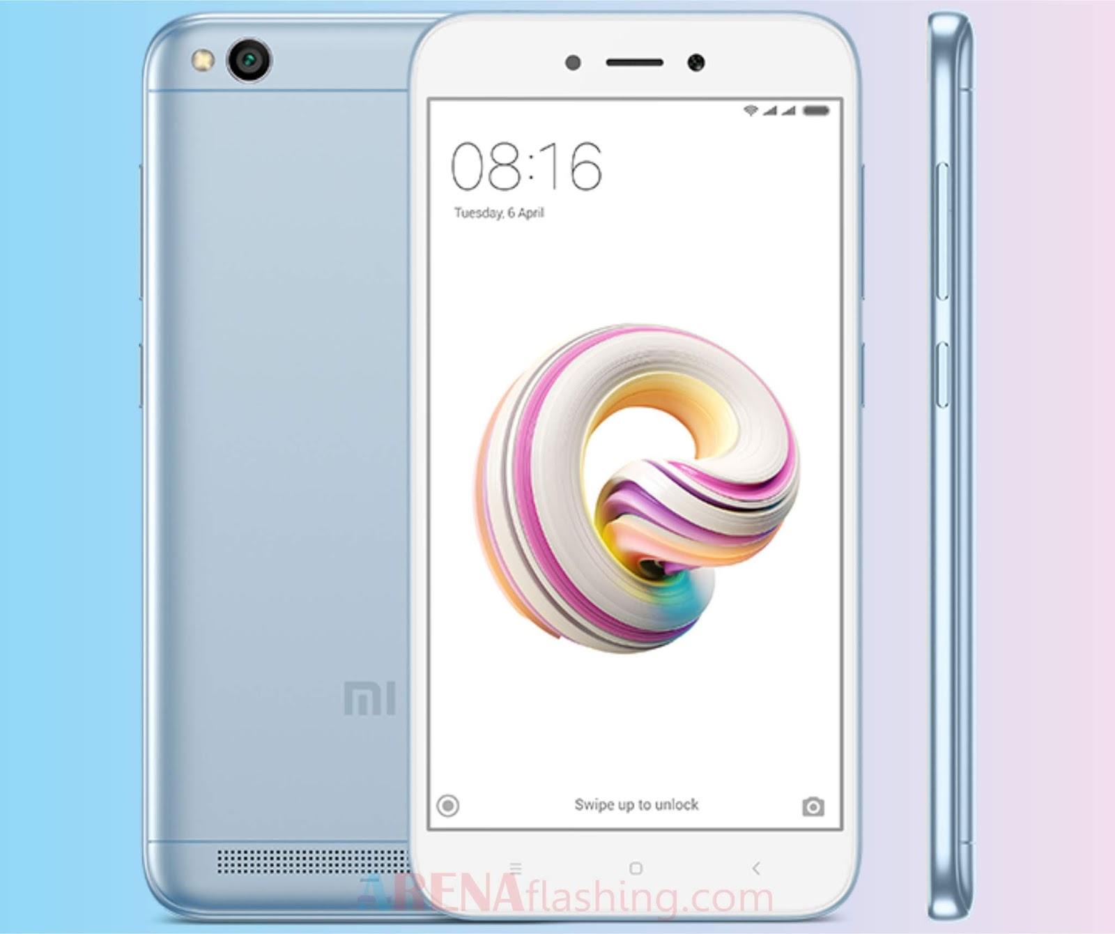 Spesifikasi Xiaomi Redmi 5A - Tutorial Flashing Android