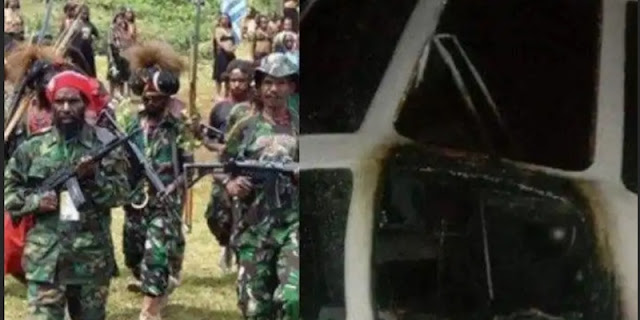 Setelah Dunia Pendidikan, KKB Kini Teror Sektor Penerbangan Di Papua