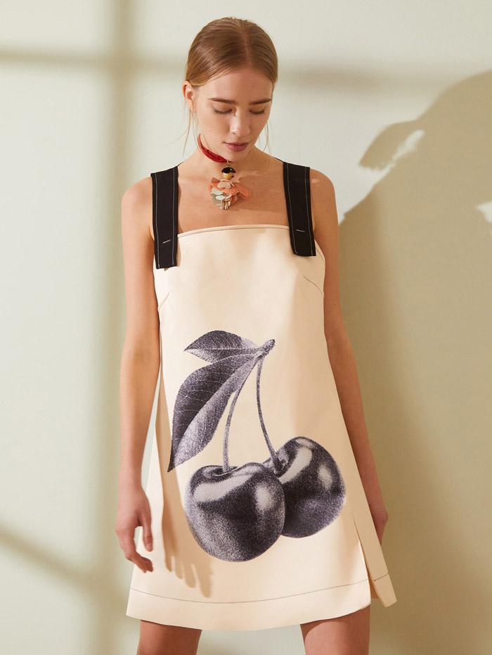 vestido corto moda mujer verano 2021