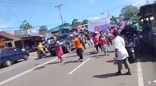 OPM Semakin Percaya Diri, Kibarkan Bendera Bintang Kejora Tanpa Gangguan Aparat