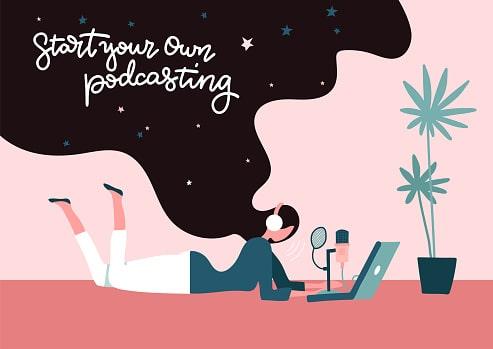start a podcast online business ideas