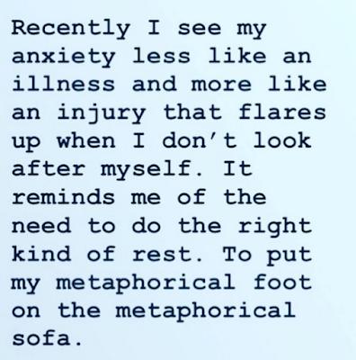 Anxiety as An Injury