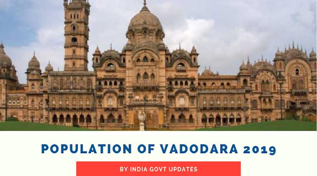 Population of Vadodara 2019