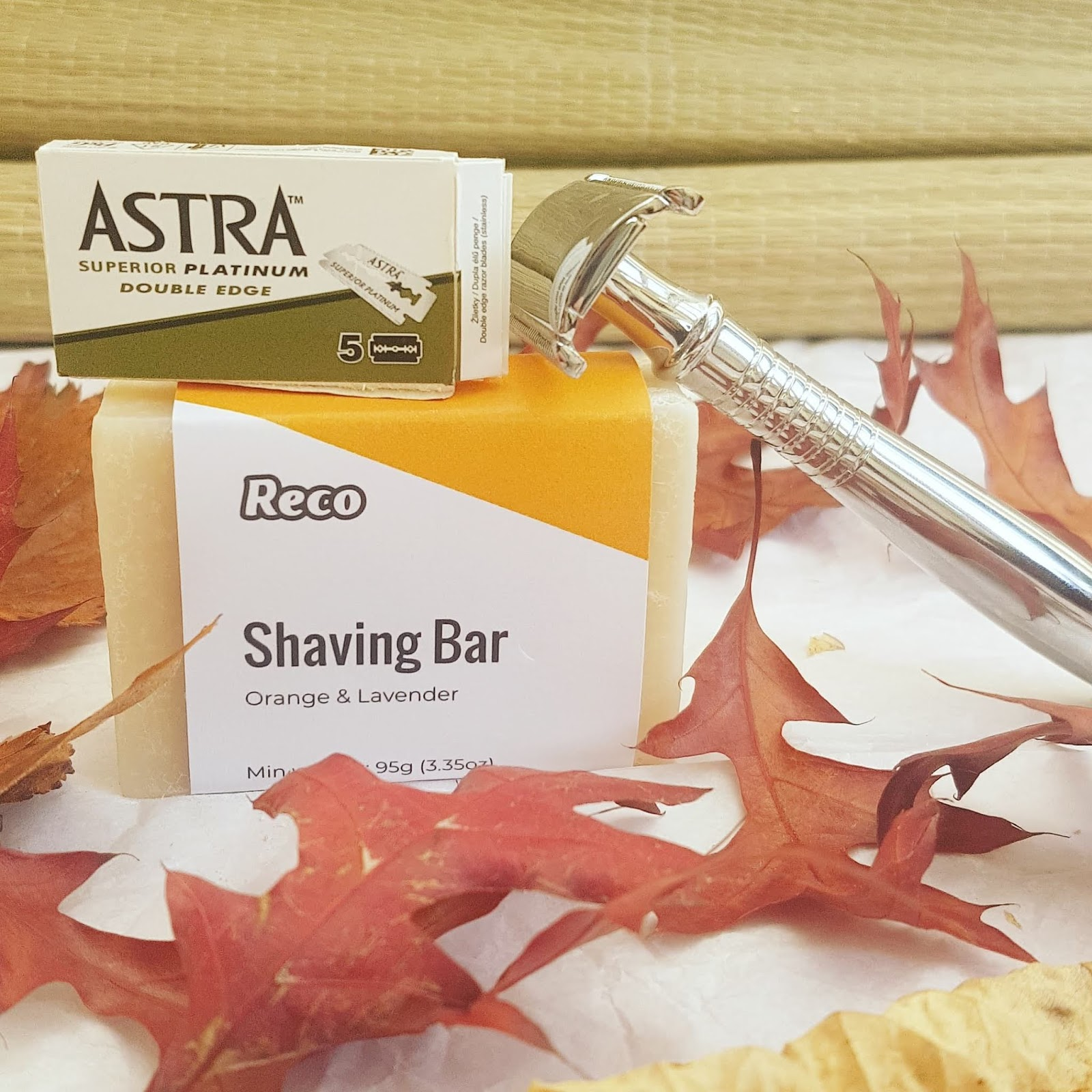 ReCo safety razor - Plastic Free Bathroom Edit