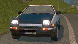 Toyota Sprinter Trueno AE86 car mod