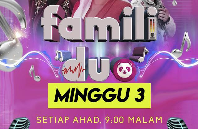 Live Streaming Famili Duo Minggu 3