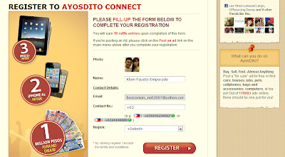 Ayos Dito, Ayos Dito Connect and Win Promo
