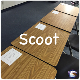 SCOOT is another fun way to use task cards and physical movement in the classroom!