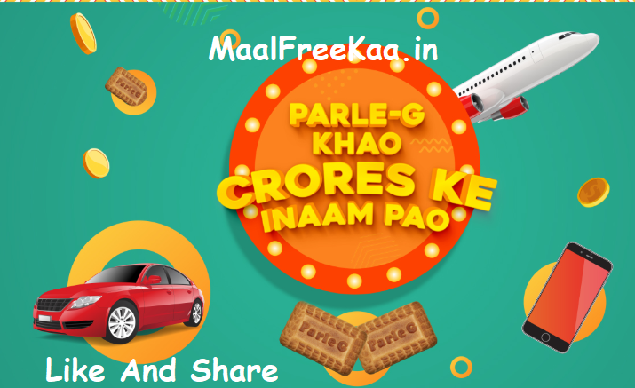 Parle-G SMS Contest Win Trip Singapore, Cars, SmartPhone