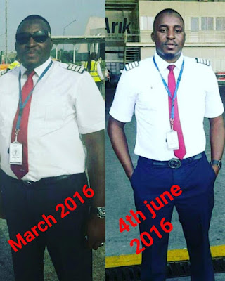 Man recounts how he lost so much weight in 3 months