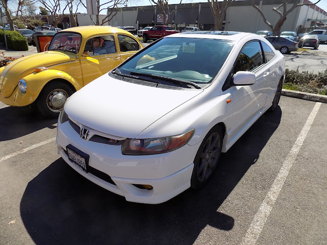 Honda Civic after repairs & paint at Almost Everything Auto Body.