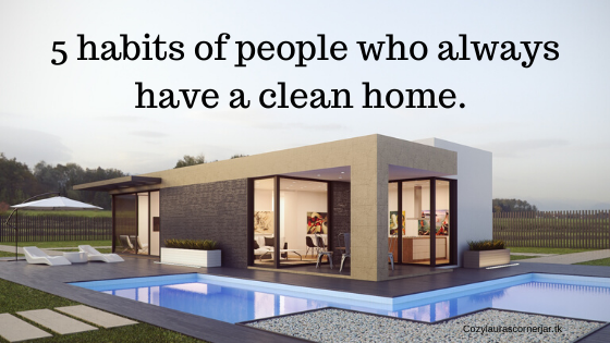 wondering how so many people have a clean home, How did they get it their. did they have help along the way.