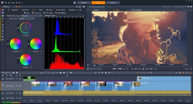 برنامج لتحرير مقاطع الفيديو احدث اصدار