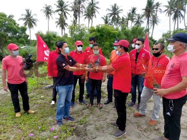 Memperingati hari ulang tahun PDIP ke-48, DPD Aceh melaksanakan penanaman pohon