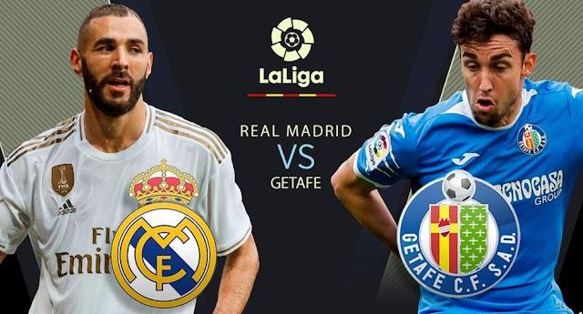 EN DIRECTO Real Madrid vs Getafe vía DirecTV: se enfrentan EN VIVO por la fecha 33 de LaLiga Santander en el Di Stéfano